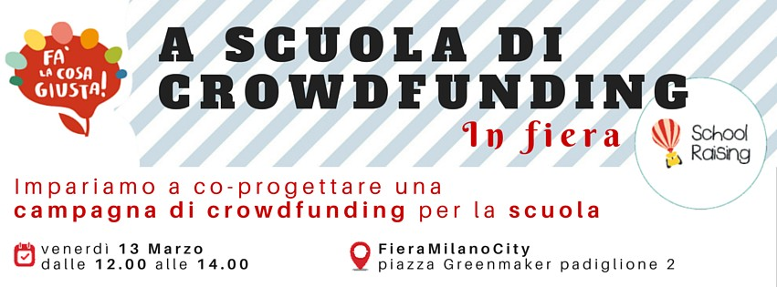 A SCUOLA DI CROWDFUNDING