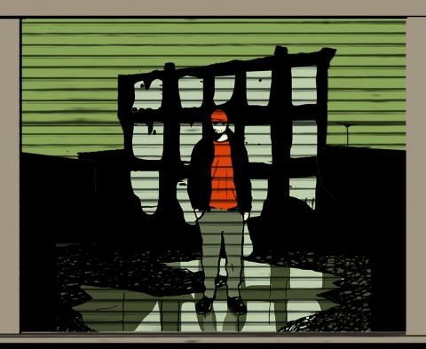 Street-Art-su-una-serranda-alla-Bolognina-480x393